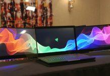 Компания Razer представила концепт ноутбука с тремя экранами