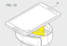Samsung патентует беспроводное зарядное устройство новой формы