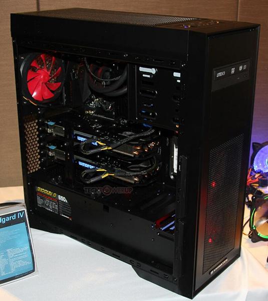 Компьютерный корпус Xigmatek Midgard IV дебютировал на выставке Computex 2016