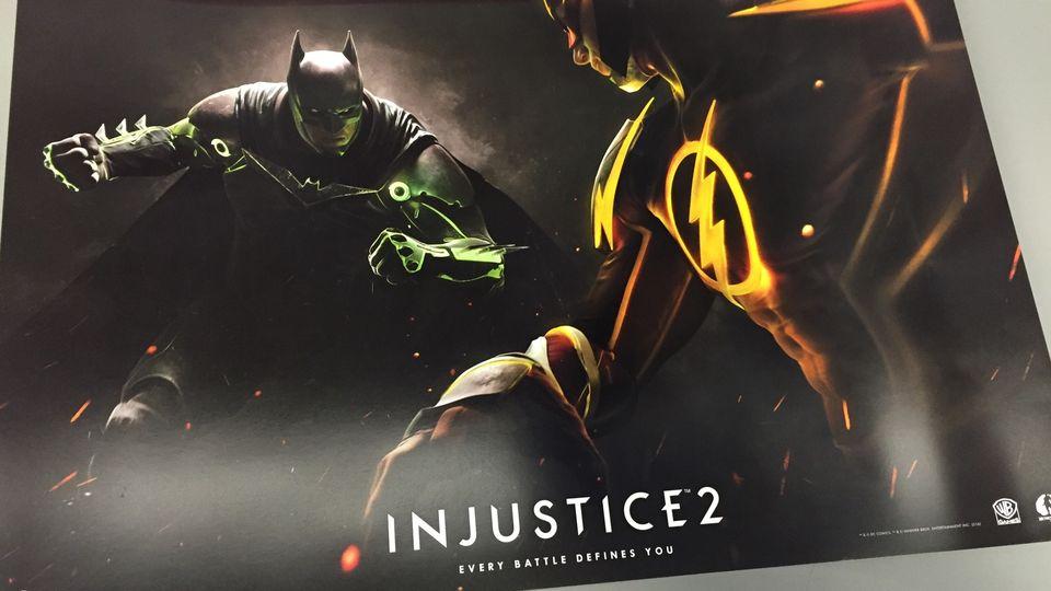 Warner Bros. и DC анонсировали супергеройский файтинг Injustice 2