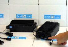 Компактный защищенный ПК Small PC ibrick SC215ML построен на процессоре Intel Core i7 с пассивным охлаждением