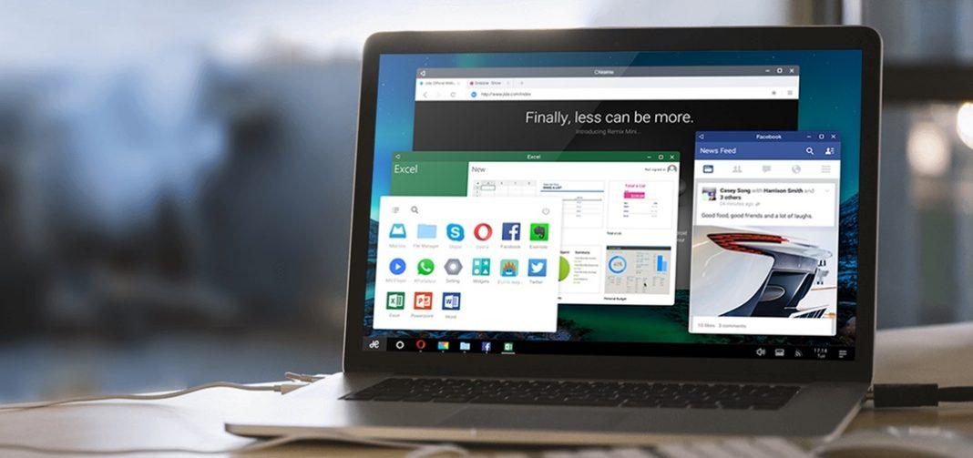 Acer выпускает свой первый ноутбук с Remix OS