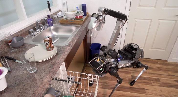 Boston Dynamics показала своего нового робота SpotMini