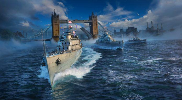 В морской ММО-экшен World of Warships приходит линейка британский крейсеров