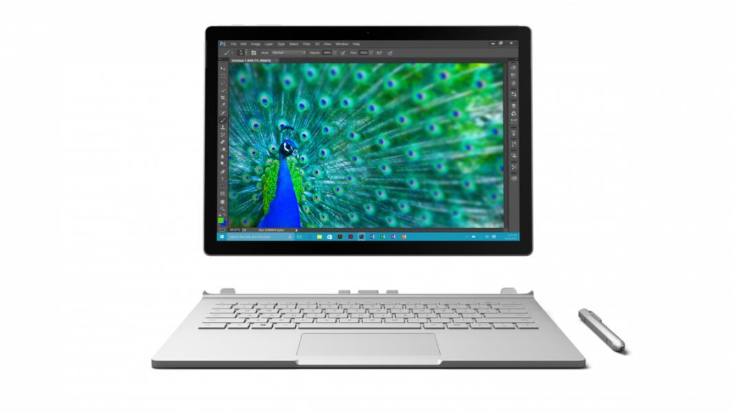 Microsoft представила гибридный планшет Surface Book i7