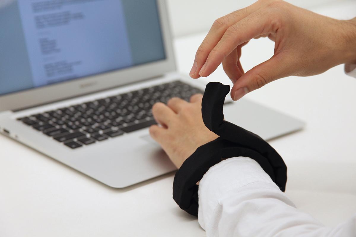 LineFORM может превратиться в телефон, лампу или экзоскелет