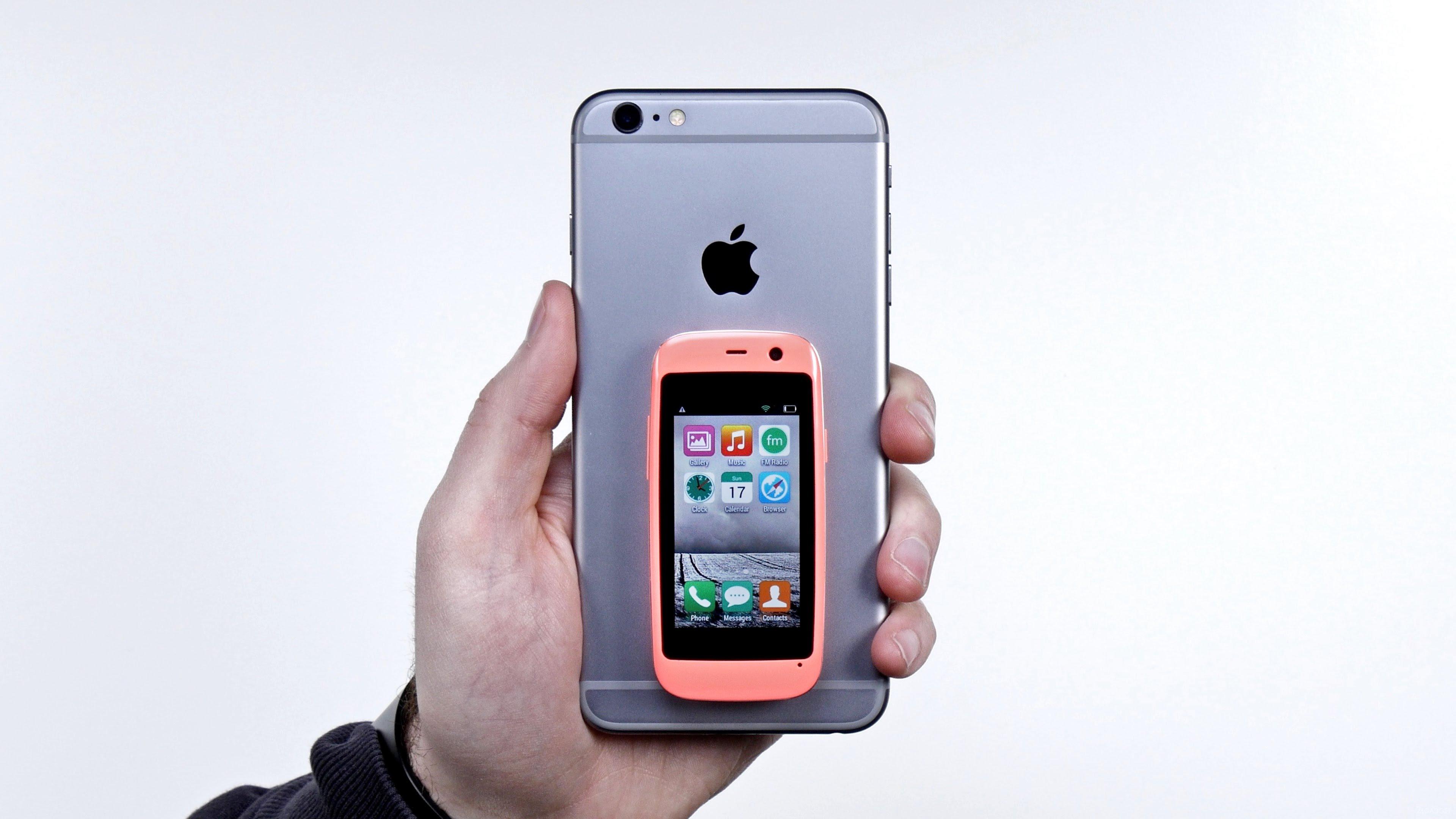 самый маленький смартфон 2017