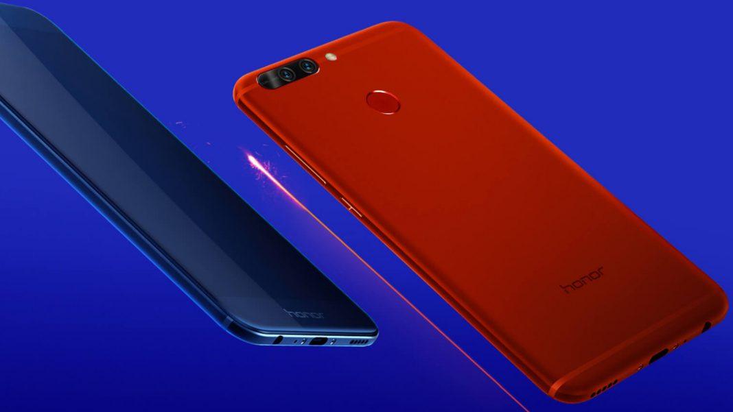 Huawei представила недорогой смартфон Honor V9 Play в металле