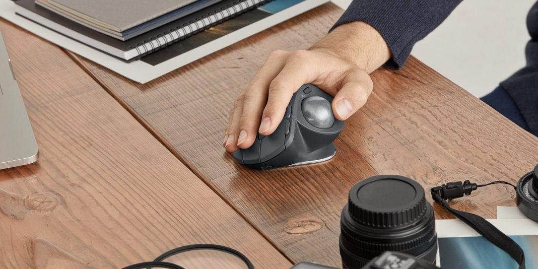 Logitech выпустит мышь с трекболом — впервые за семь лет