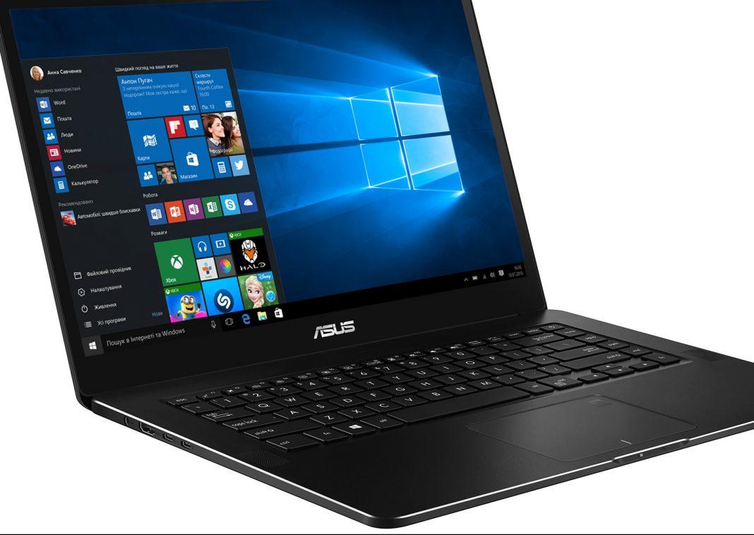 Asus ZenBook Pro UX550VD.