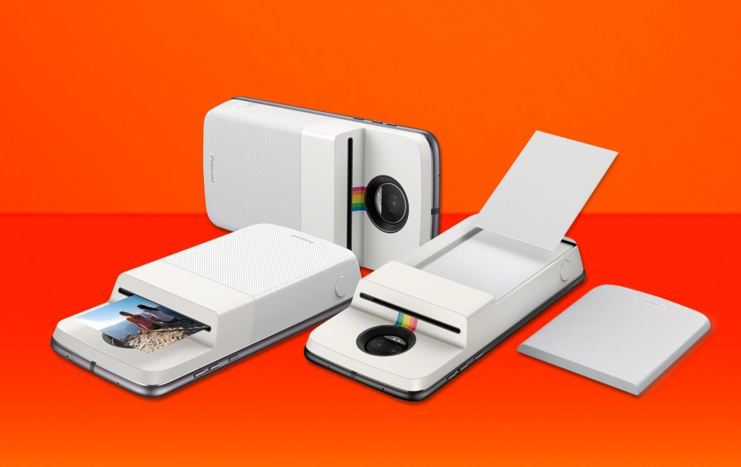 Панелька Polaroid Insta-Share Moto Mod научит смартфон печатать снимки
