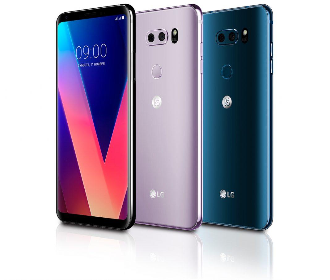 Флагманский смартфон LG V30s получит в два раза больше памяти