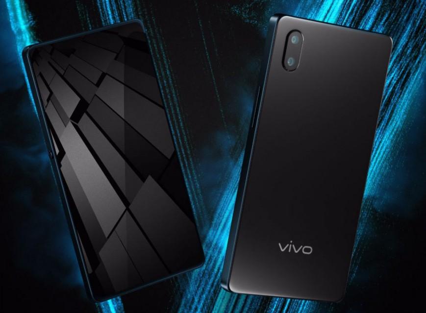 Vivo официально представила смартфон без рамок и с выдвижной камерой