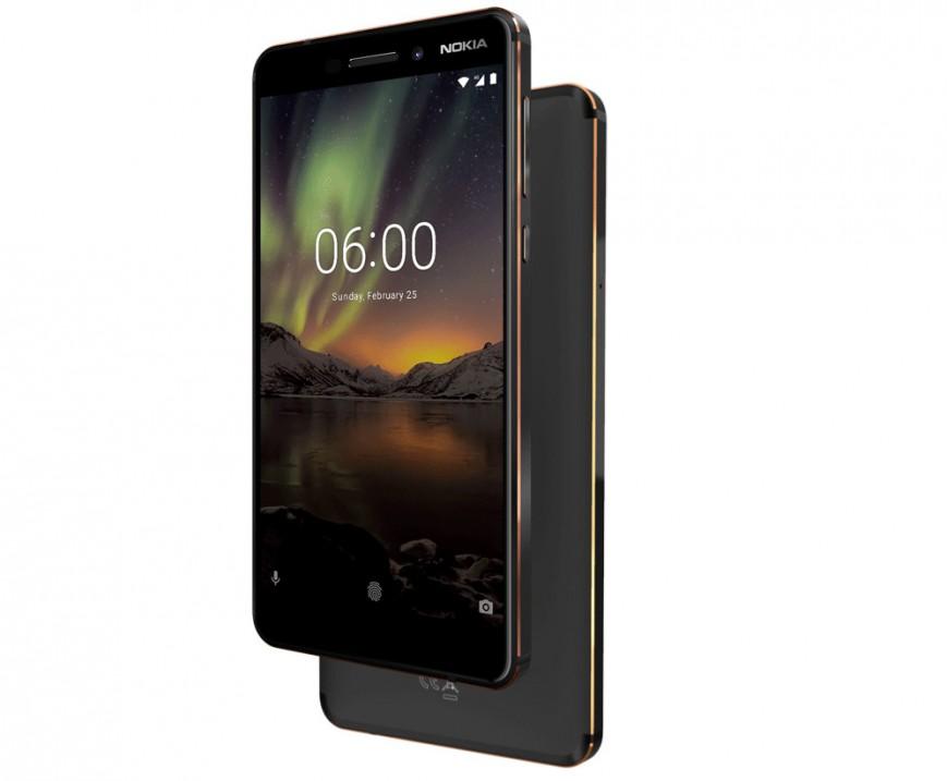 Смартфон Nokia 6 второго поколения выходит в России