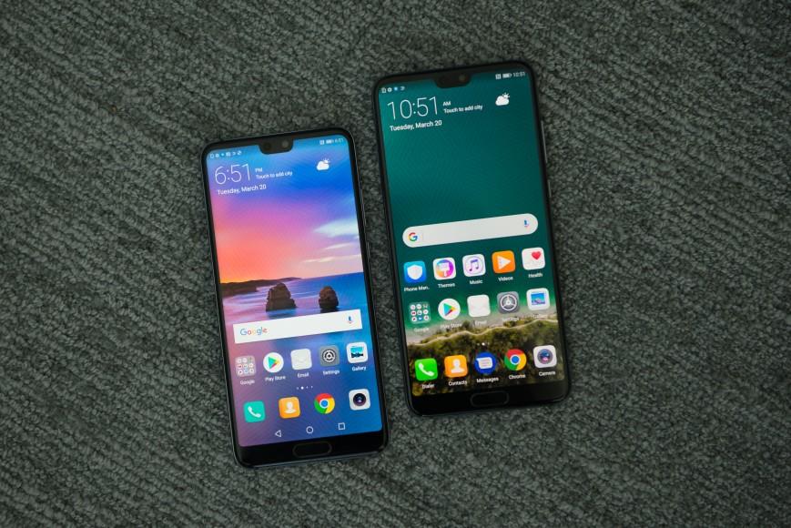 Объявлены российские цены на флагманские Huawei P20 и P20 Pro