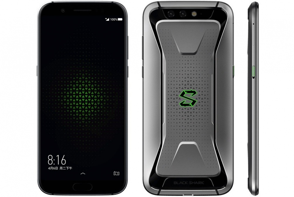 Xiaomi представила игровой смартфон Black Shark со съёмным геймпадом-джойстиком