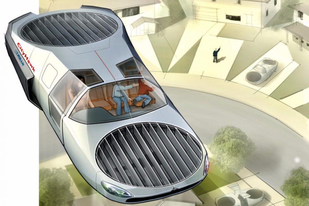 CityHawk — пассажирский вариант летательного аппарата Cormorant для городских перевозок