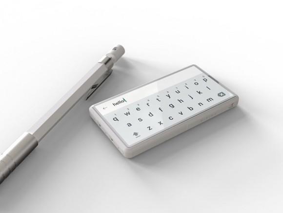 Показан смартфон размером с клавиатуру Samsung Galaxy S9+