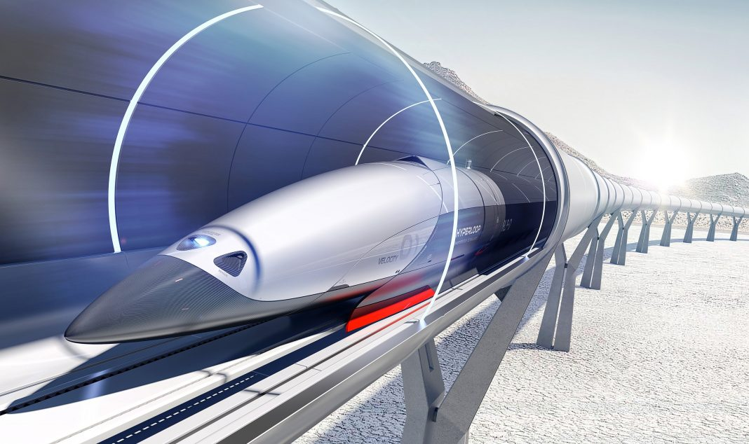 Прототип капсулы для тоннелей Hyperloop развил скорость 467 км/ч