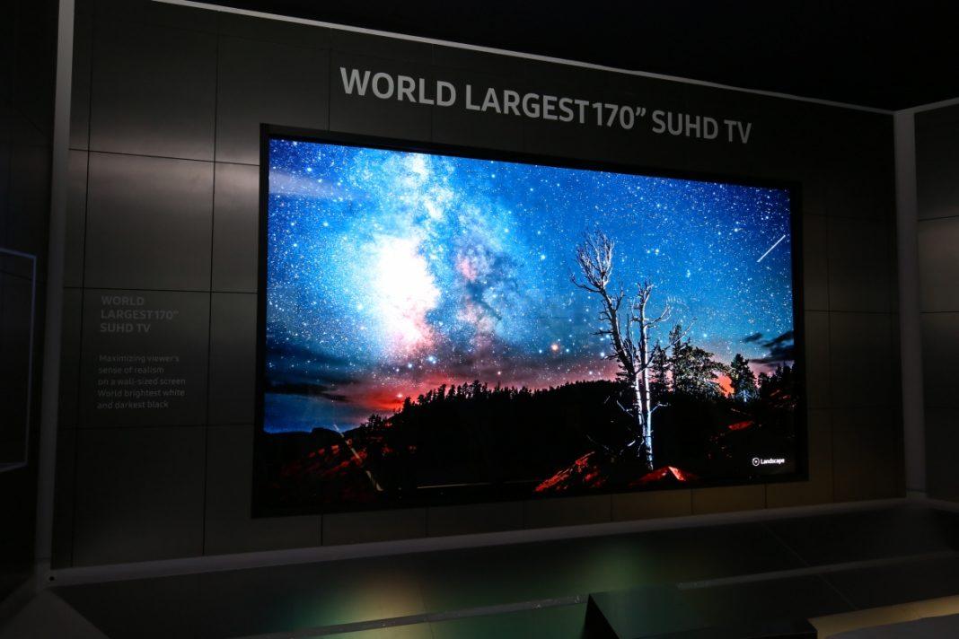 Samsung выпустила 88-дюймовый QLED TV за 20 тысяч долларов