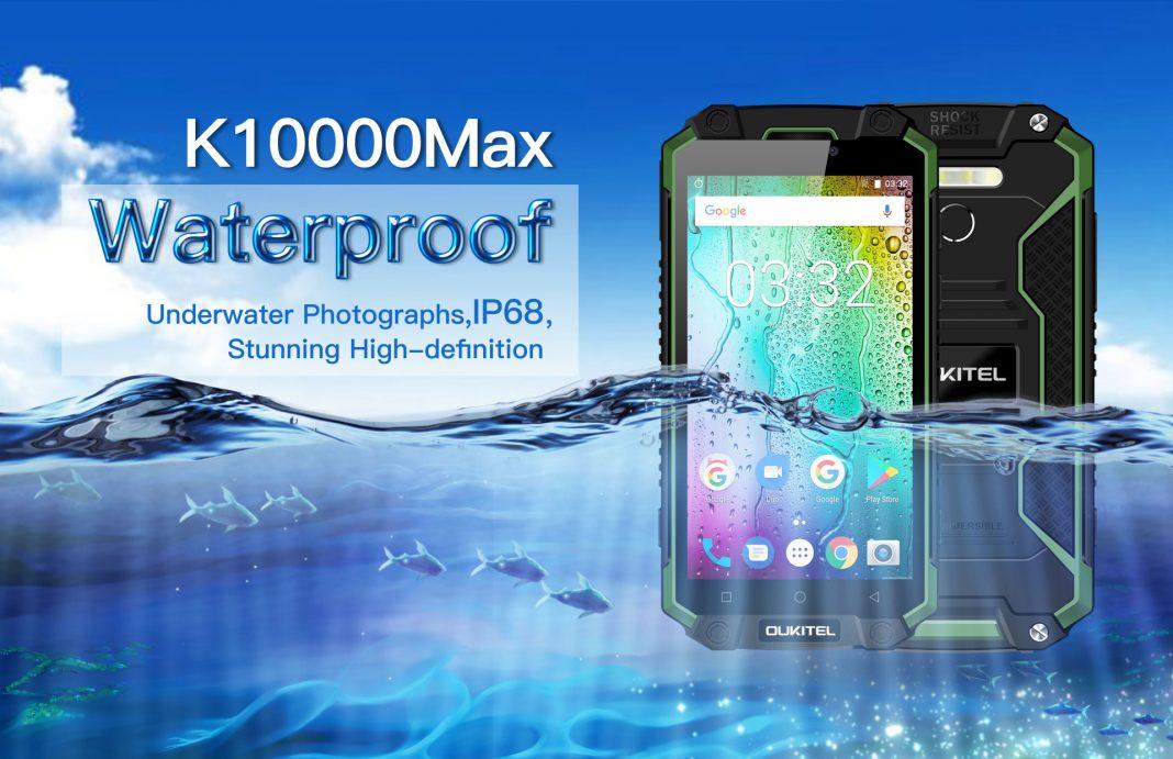 Подробные спецификации «неубиваемого» смартфона OUKITEL K10000 Max