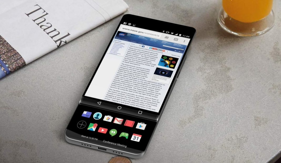Одновременно с флагманским LG V30 дебютирует версия Plus
