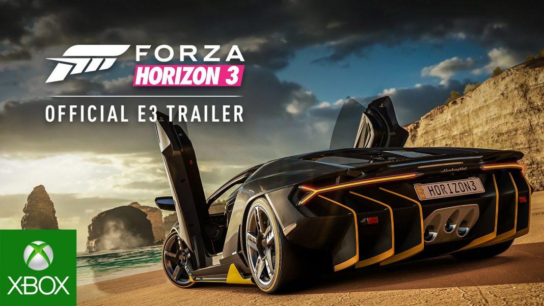 Комплект Xbox One S с Forza Horizon 3 выходит в России