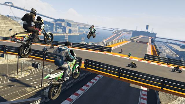 В GTA Online вышло обновление «Лихачи и трюкачи»