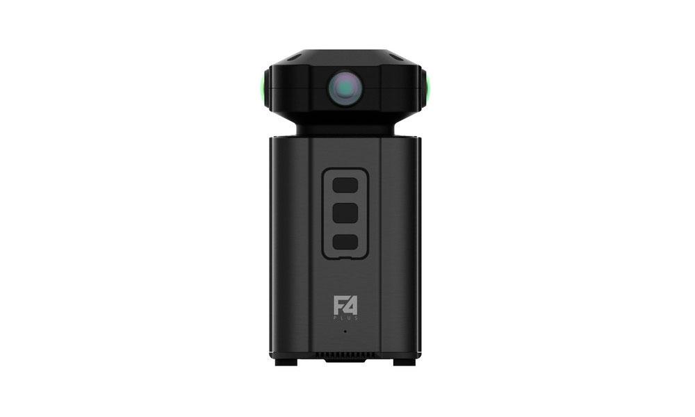 Камера Detu F4 Plus снимает сферические панорамы с разрешением 8К