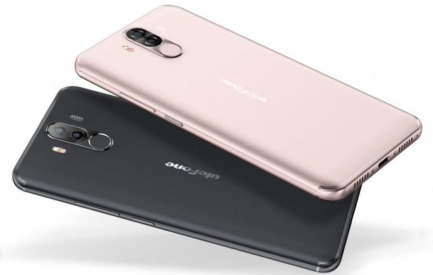 Безрамочный смартфон Ulefone Power 3 получил батарею на 6080 мАч