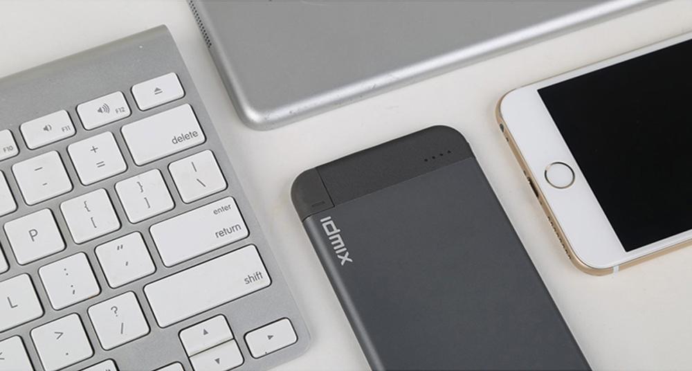 Idmix Power Bank — самый быстрый проводной и беспроводной портативный аккумулятор