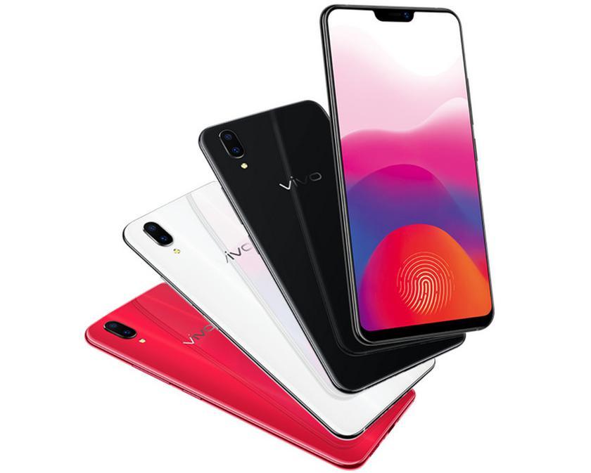 Смартфон Vivo X21 UD со встроенным в экран сканером отпечатков пальцев вышел в продажу
