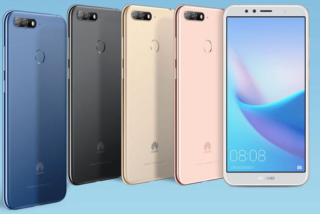 Huawei представила серию недорогих безрамочных смартфонов Enjoy 8