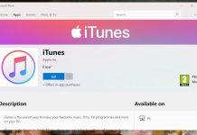 iTunes появился в Windows Store