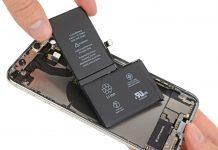 Внутри смартфона iPhone XS обнаружился L-образный аккумулятор