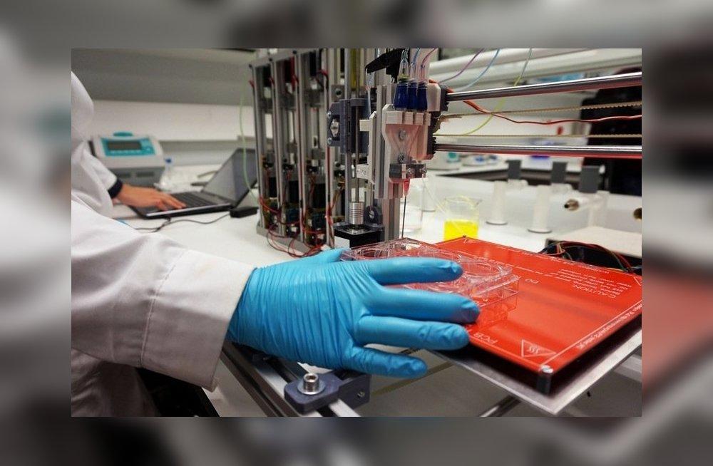 Создан 3D-принтер, печатающий любые человеческие органы