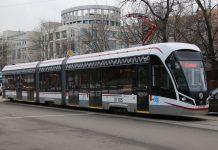 В Москве запустят беспилотный трамвай