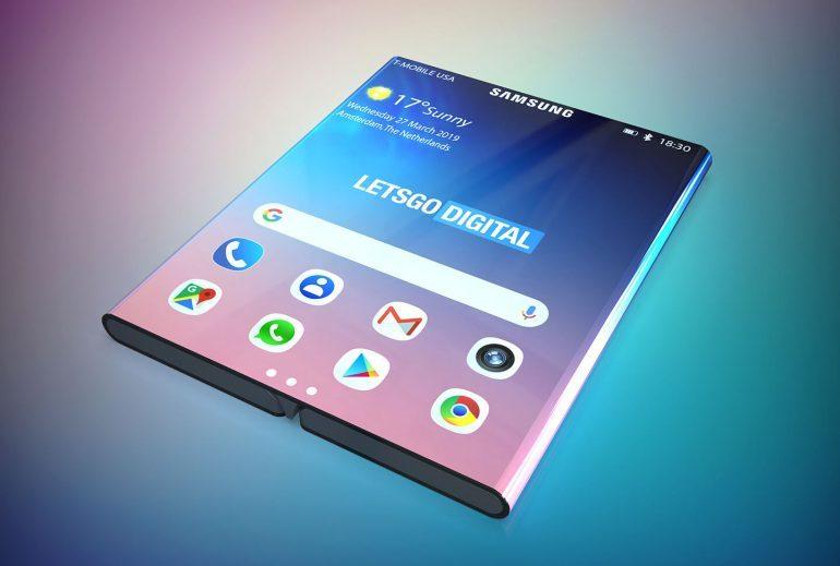 Samsung готовит складывающийся дважды смартфон, как у Xiaomi