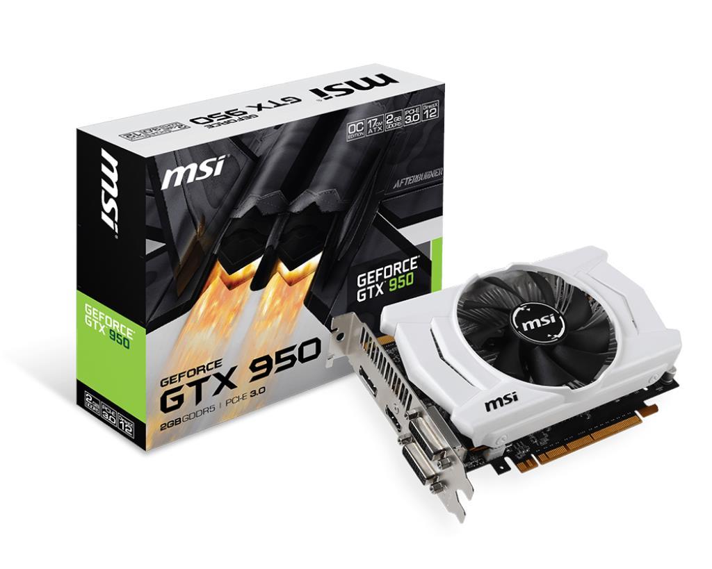 MSI представила две новые видеокарты GeForce GTX 950, одна из которых получила укороченную печатную плату