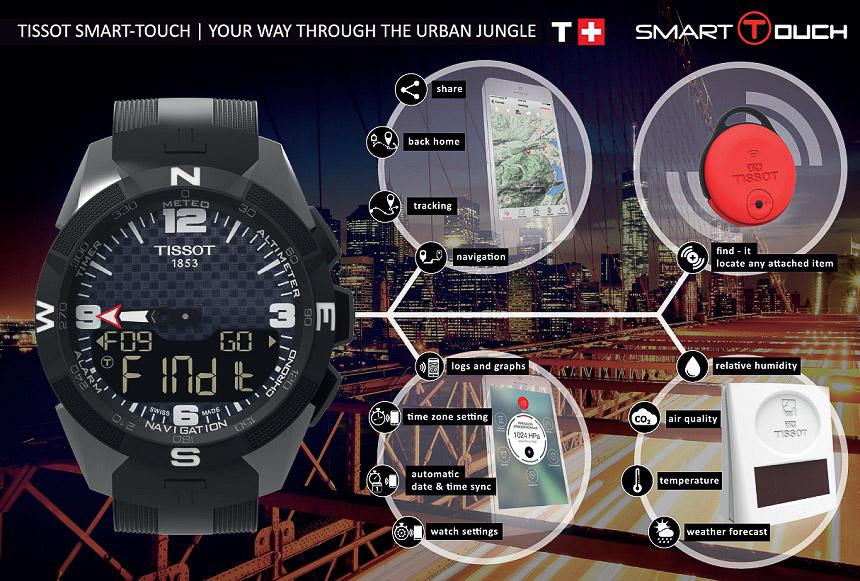 Tissot Smart-Touch — первые умные часы Swatch
