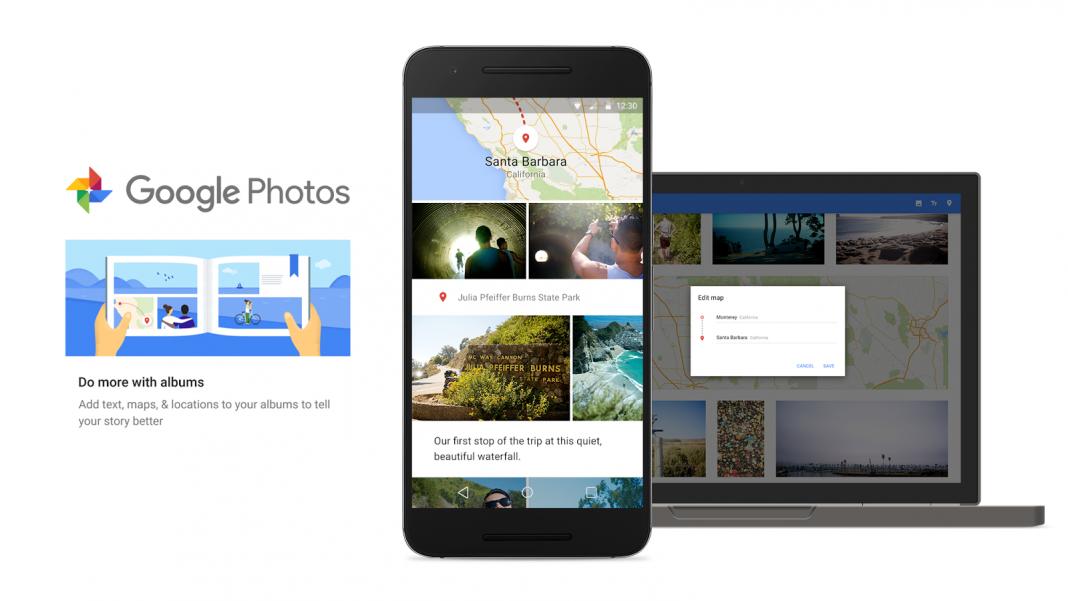 В Google Фото запустили «Умные» фотоальбомы