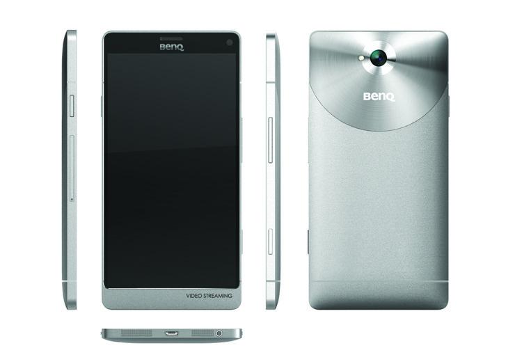 Benq F55 — смартфон с экраном 4K и запоминающимся дизайном