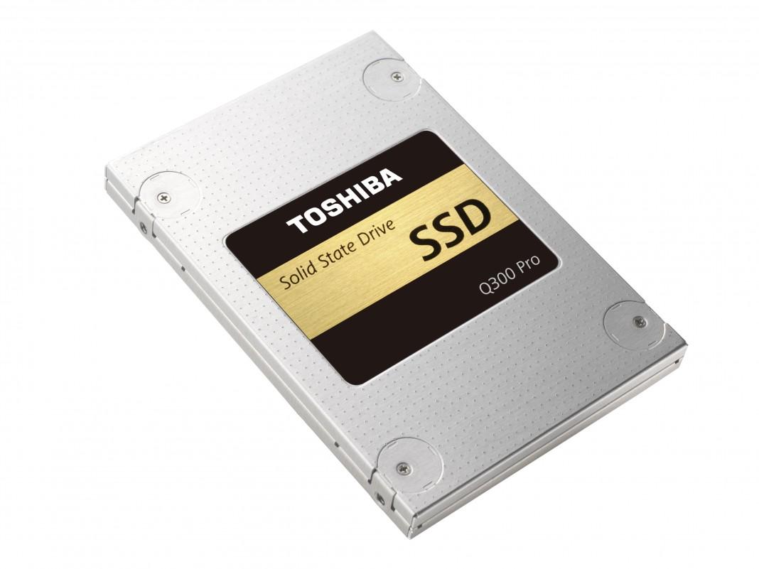 Toshiba представила 15-нм SSD Q300 и Q300 Pro