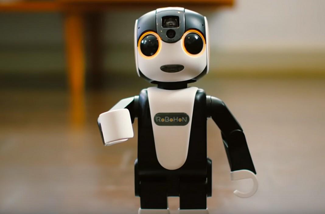 Ходячий робосмартфон Sharp RoboHon оценен в $1800