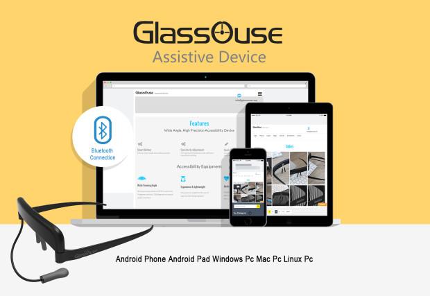 Glassouse — устройство для управления курсором мыши с помощью движений головы