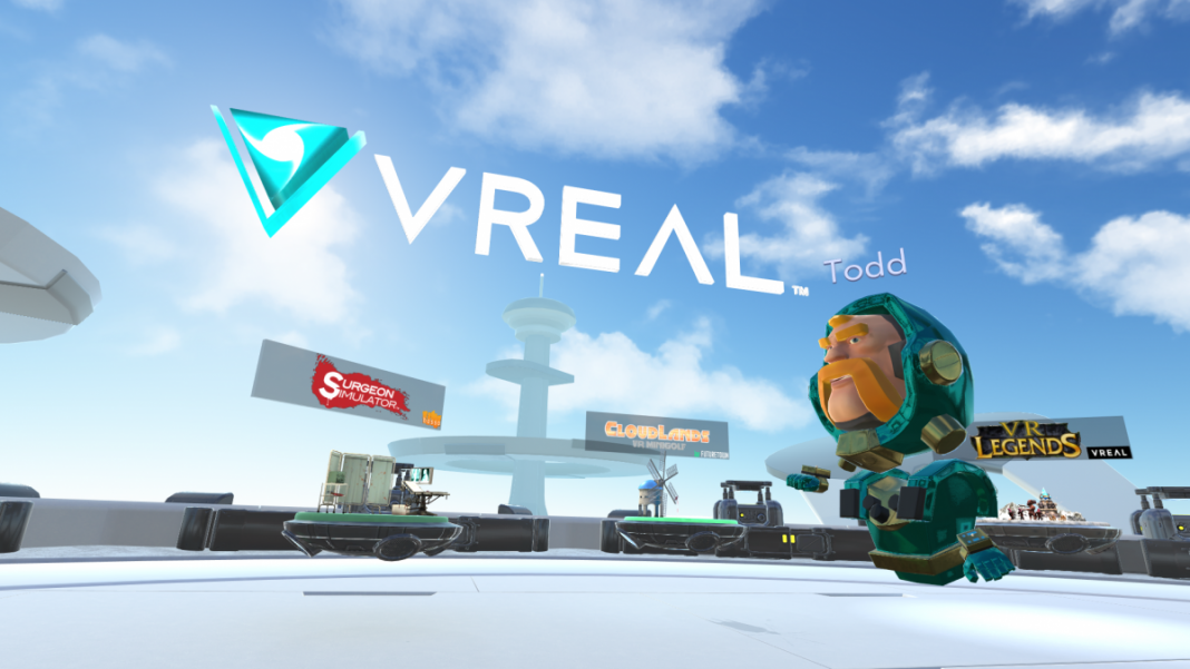 VREAL станет платформой для стриминга виртуальной реальности
