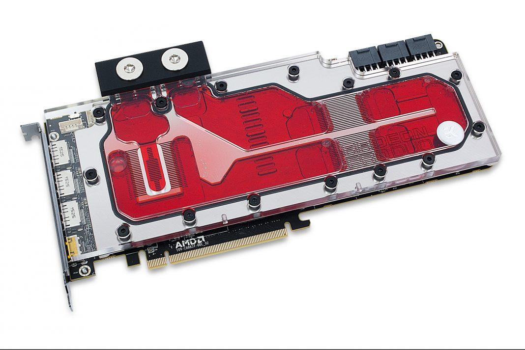 Водоблок EK Water Blocks для видеокарты Radeon Pro Duo оценён в 155 евро