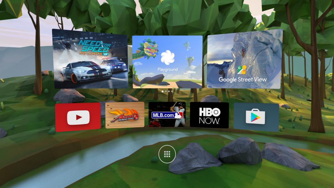Компания Google представила гарнитуру виртуальной реальности Daydream VR