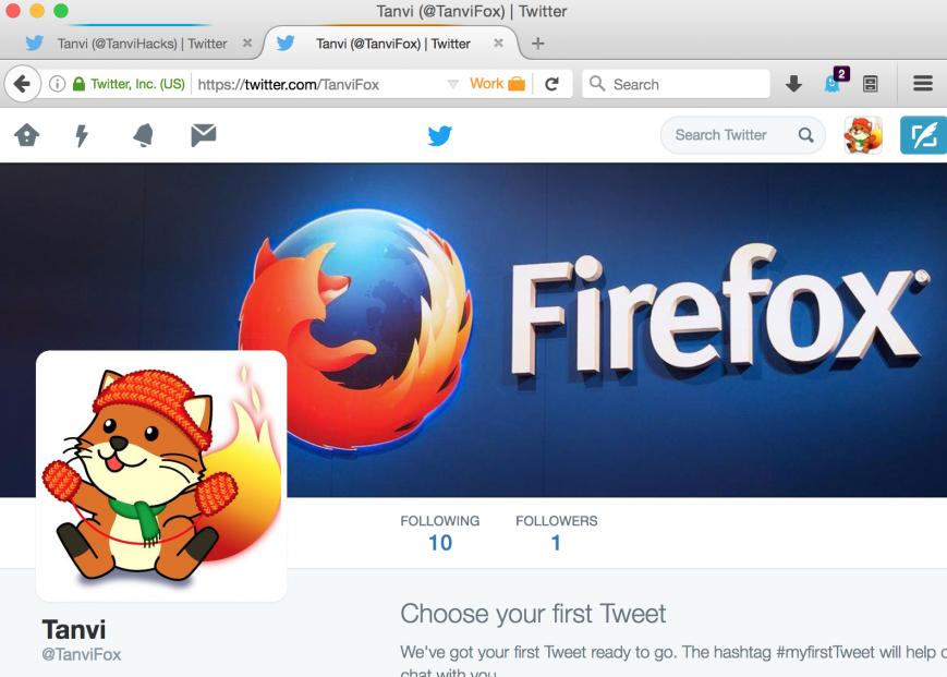 Firefox учится заходить на сайты под разными аккаунтами одновременно