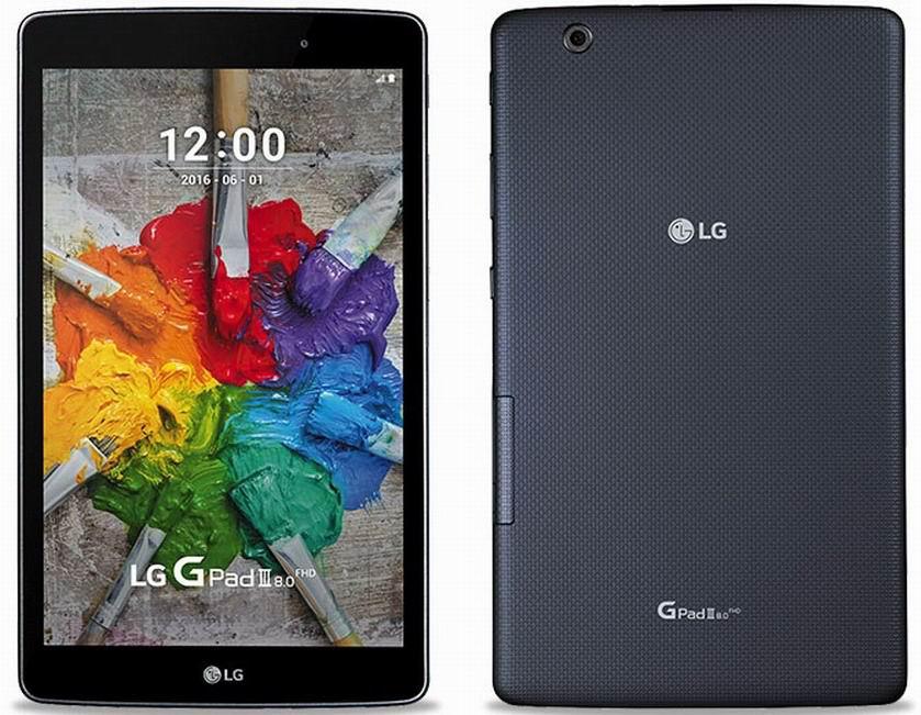 Планшет LG G Pad III 8.0 представлен официально
